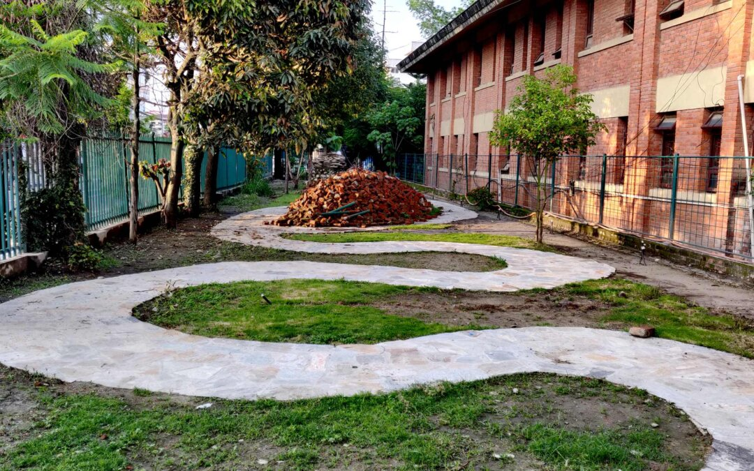 The city's green necklace – ongoing
